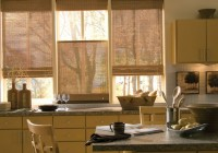 Modern White Kitchen Curtains