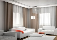 modern window curtains for living room