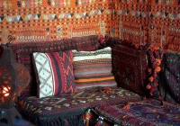Moroccan Cushion Couch Floor Low