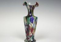 Multi Colored Glass Vases
