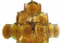 Murano Glass Chandelier Replica