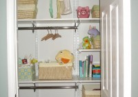 Nursery Closet Organization Tips