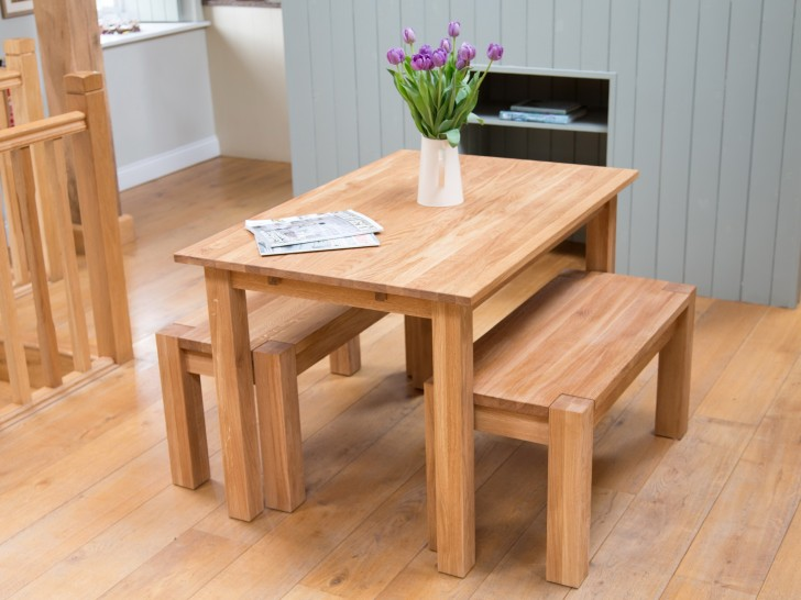Permalink to Oak Bench For Dining Table