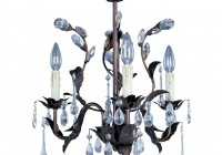 Oil Rubbed Bronze Crystal Chandelier