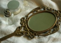 Old Hand Held Mirrors
