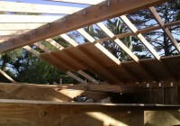 Old Roof 1×8 Tongue And Groove Roof Decking
