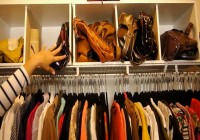Organizing A Small Walk In Closet
