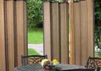 Outdoor Bamboo Curtain Panels
