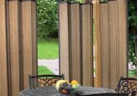 Outdoor Bamboo Curtain Panels