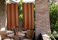 Outdoor Bamboo Curtains Canada