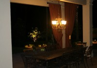 Outdoor Candle Chandelier Lighting