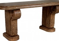 Outdoor Console Table Stone
