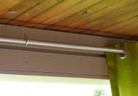 Outdoor Curtain Rods With Posts