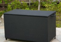 Outdoor Deck Box Black