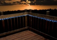Outdoor Deck Rope Lighting