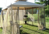 Outdoor Gazebo Curtains Home Depot