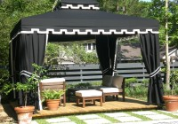 Outdoor Gazebo Curtains Sheers