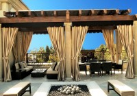 Outdoor Patio Curtain Ideas
