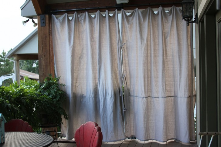 Permalink to Outdoor Privacy Curtains For Deck