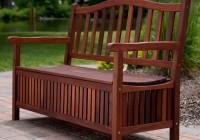 Outdoor Storage Bench Seat