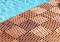 Outdoor Wood Decking Tiles