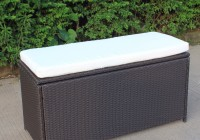 Outside Storage Bench Seat