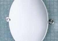 Oval Bathroom Mirrors Chrome