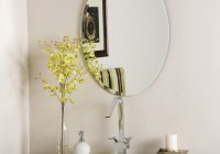 Oval Mirror Beveled Edge