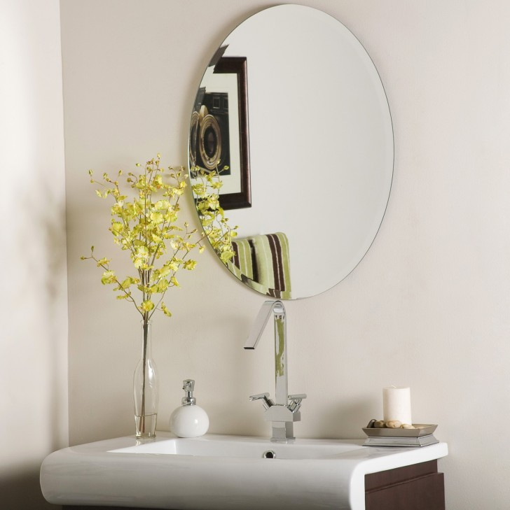 Permalink to Oval Mirror Beveled Edge
