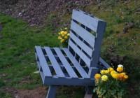 Pallet Garden Bench Plans