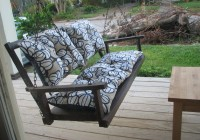 patio swing cushions outdoor