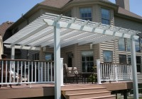 Pergola On Deck Attached To House