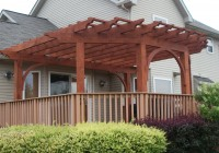 Pergola On Deck Blocks