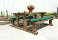 Picnic Bench Cushions Outdoor Furniture
