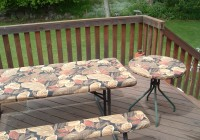 Picnic Table Bench Covers