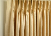 Pinch Pleat Curtains On Pole