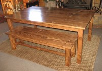 Pine Bench For Dining Table