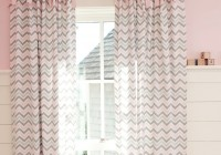 Pink And Gray Nursery Curtains