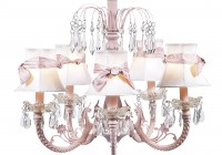 Pink Chandeliers For Nursery