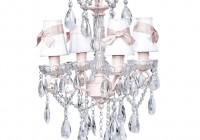 Pink Crystal Chandelier Light
