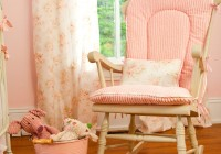 pink rocking chair cushions for nursery