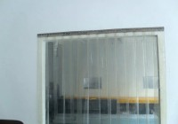 Plastic Garage Door Curtains