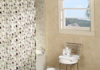 Polyester Shower Curtain Need Liner