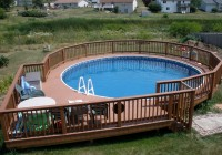 Pool Deck Plans 27 Foot Round