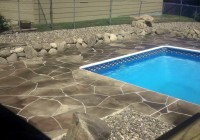 Pool Decking Ideas Concrete