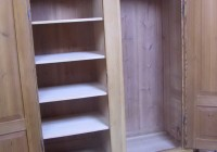 Portable Clothes Closet Wood