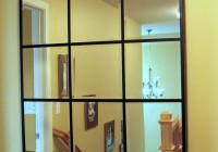 Pottery Barn Beveled Glass Mirror