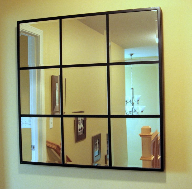 Permalink to Pottery Barn Beveled Glass Mirror
