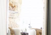 Pottery Barn Mirrors White Frame
