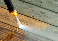 Power Washing Deck Cleaner